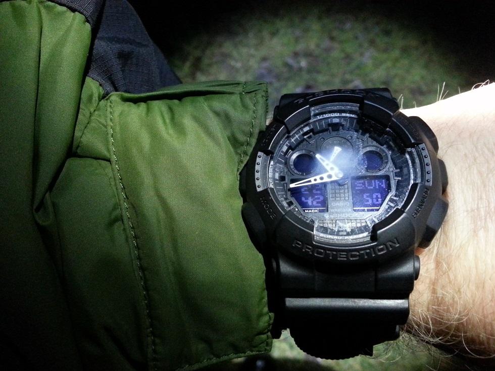 Endnu en gang viser uret sig at være noget lort. Dug på inderside af glasset.